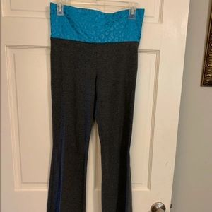 Stretchy Flare Grey Pants